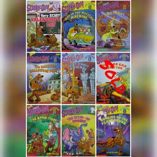 Scooby Doo Reading Level 2 Children's Books