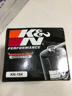 K&N Oil Filter KN-164 for BMW Motorcycle