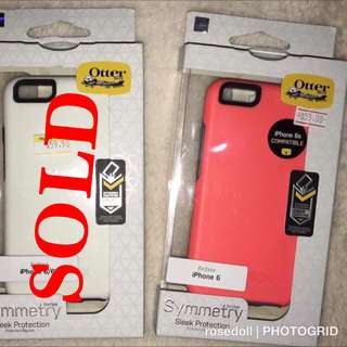 AUTH OTTERBOX CASE SYMMETRY FOR IPHONE 6/6s