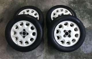 Teardrops Mags and Tires