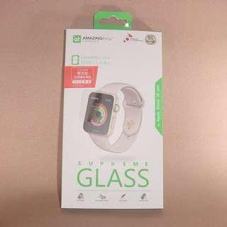 Apple Watch 38mm 香港行貨 雙效能全覆蓋螢幕 鋼化玻璃保護貼