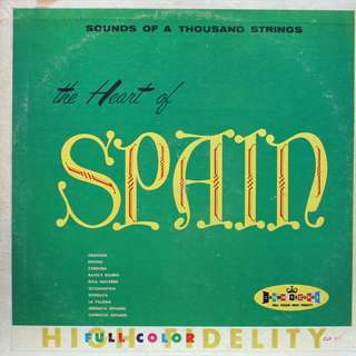 spain Vinyl LP used, 12-inch, may or may not have fine scratches, but playable. NO REFUND. Collect Bedok or The ADELPHI.