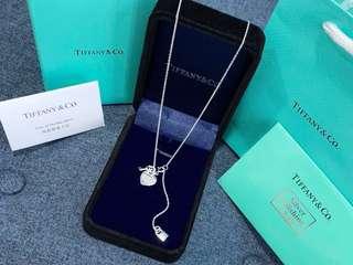 【💯正品】Tiffany&Co 心心鑰+鑰匙🗝頸鍊 🎁全套包裝 連紙袋