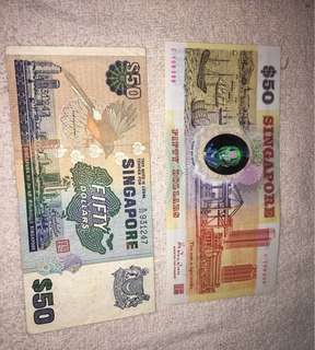 1st Singapore plastic note & Bird series
