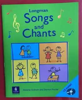 Longman song n chants book