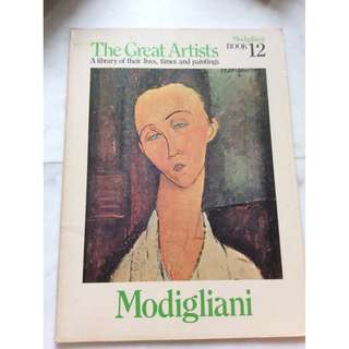 The Great Artists Modigliani