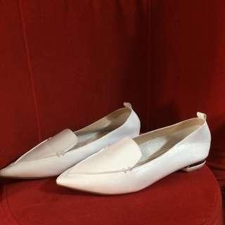 Nicolas kirkwood white genuine leather shoes