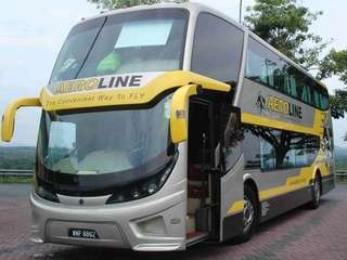 Aeroline bus ticket Sunway - Singapore (8Jul18 6pm)