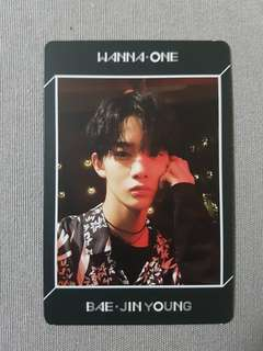 WTB Wanna One Undivided No1 Bae Jinyoung Pc
