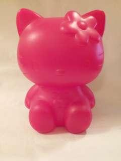 Hello Kitty 膠錢箱 全新 懷舊 絕版