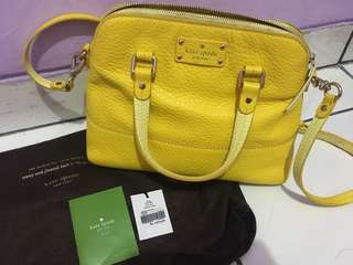 Kate Spade yellow sling bag