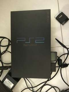 Modified Playstation 2 With 1 controller