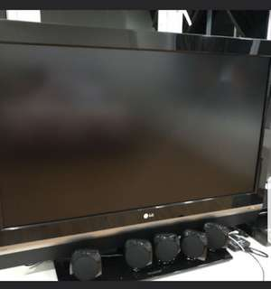 "42"" LG TV Great Condition LCD TV LG 42LC2R"