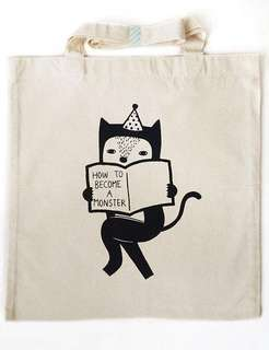 *CLEARANCE* How To Become A Monster Tote Bag