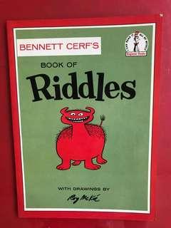 Dr Seuss book of riddles