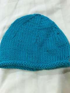 Woollen beanie 3-6months