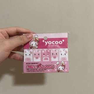 Yocoo Sticky Notes (Miss Rabbit)