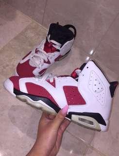 Jordan carmine 6