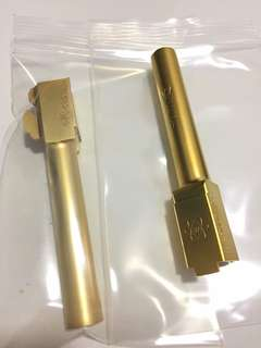 Airsoft Glock Gold Outer barrel