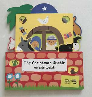 The Christmas stable board book