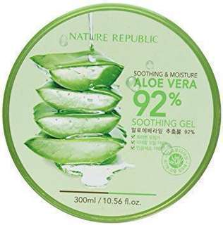 [PO] Original Soothing and Moisture Aloe Vera 92% Gel
