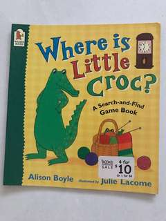 Where is little croc children's book