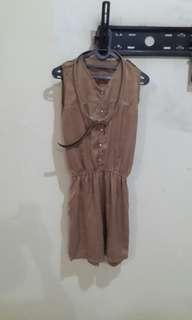 Brown jumpsuits #Merdeka73