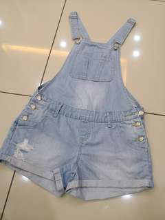 Cotton On Denim Overall (8-10t)