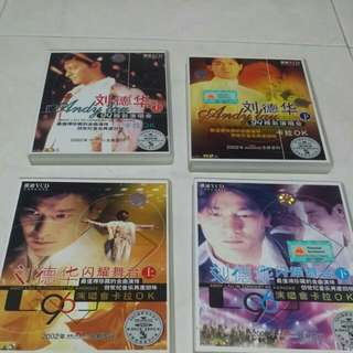 Andy Lau concert vcd