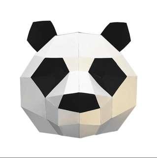 Panda Polygon Mask