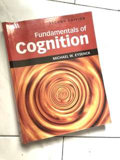 PL3233 NUS psychology | Fundamentals of cognition