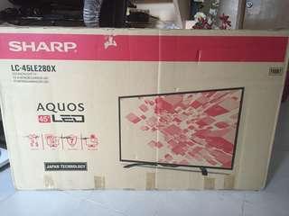 """REPRICED!!!SHARP AQUOS  45"""" LED TV"""