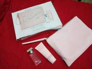 Original ralph lauren sets Gifts for her.👛👑💁(pink)