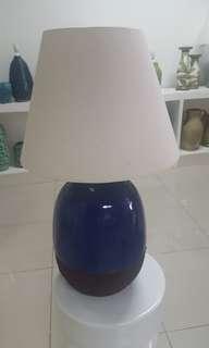 Hand made ceramic lamp