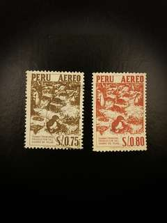 Peru Stamps (Set of 2)