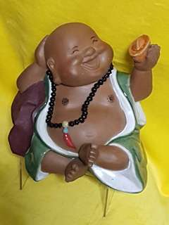 Buddha laughing porcelain (lucky)