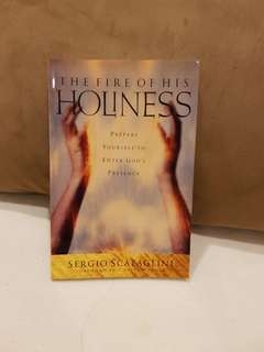 """Christian bk Sergio Scataglini """"The Fire of His holiness"""""""