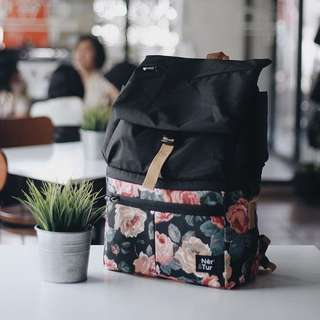 Fluer Black (Cooler & Diaper Bag)