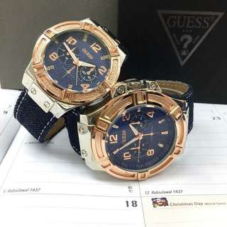 GUESS LEATHER COUPLE JEANS EXCLUSIVE