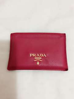 Authentic Prada Card Holder $400