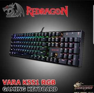 Redragon Vara K551 RGB Mechanical Gaming Keyboard