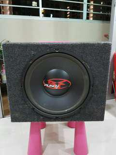 rockford fosgate sub woofer and amplifer