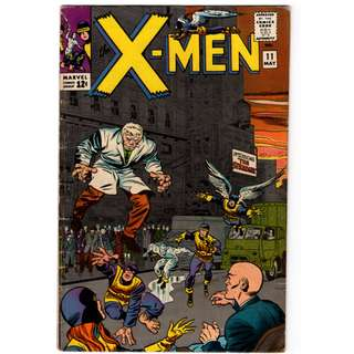 🚚 X-men Vol. 1 #11 - 1st appearance of the Stranger