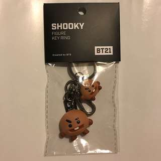 BT21 Shooky Figure Key Ring