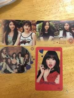 女友 GFRIEND 韓國代購官方小卡
