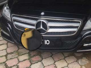 Nice number plate BNT 10