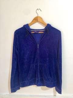 Miley Cyrus Blue Velvet Jacket