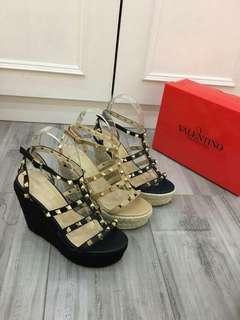 Valentino Wedges