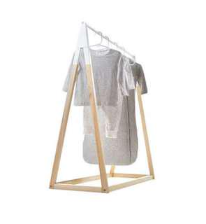 Nursery cloth rack