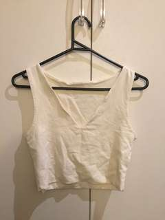 Forever new white crop